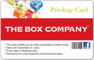 Free membership for buying cheaper boxes