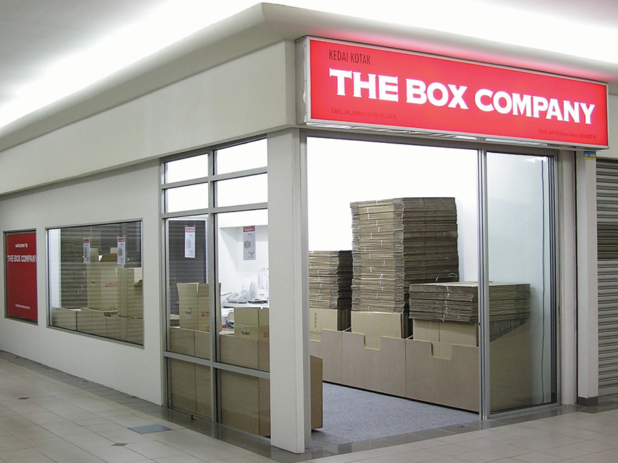 Malaysia Moving Box