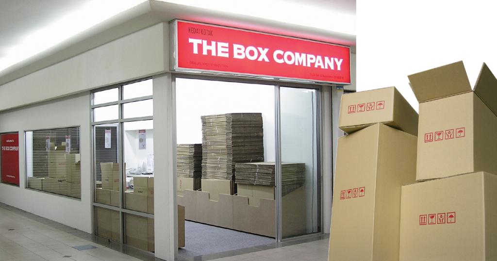 The Box Company, Kuala Lumpur - Malaysia Moving Carton Box Shop