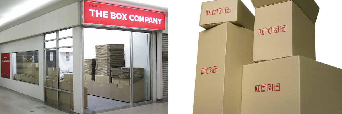 Malaysia Moving Carton Box Shop