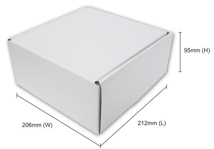 mailing box size