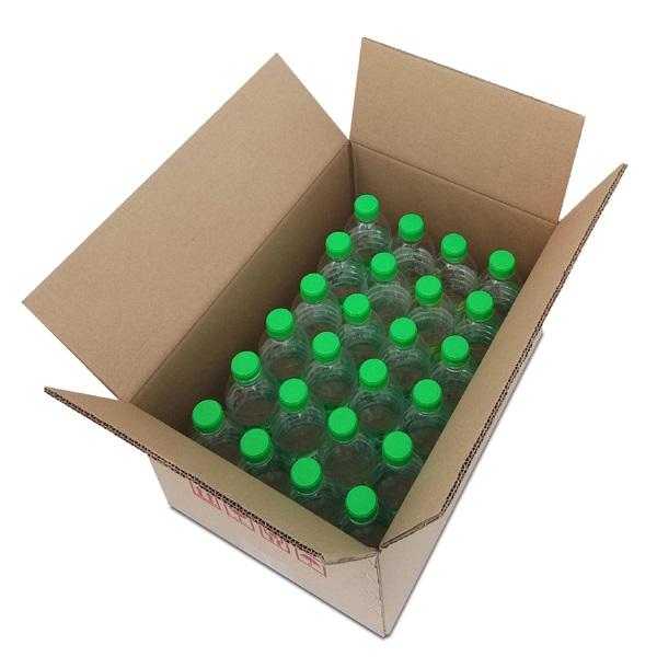 mineral water box